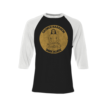 Dark Horse Babaji Raglan - George Harrison Shop