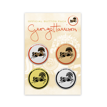 Dark Horse Records Button Packs - George Harrison Shop