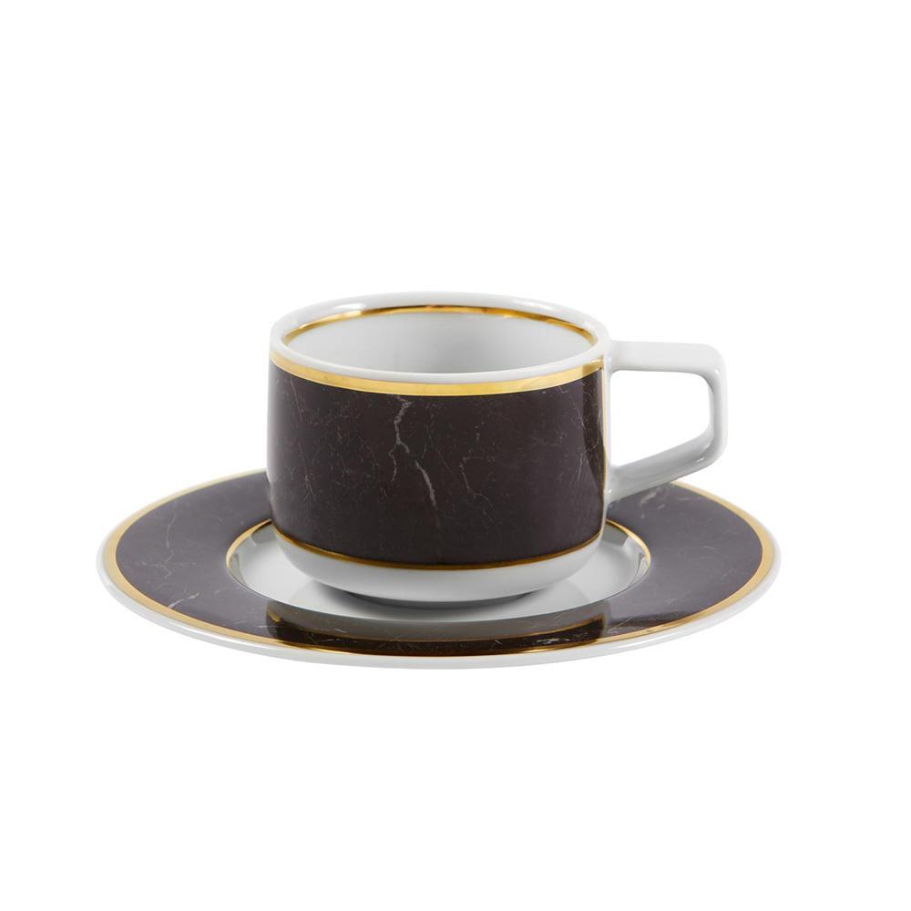 Carrara - coffee cup and saucer
