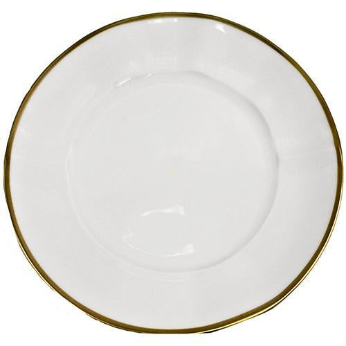 Simply Elegant - Gold Salad Plate