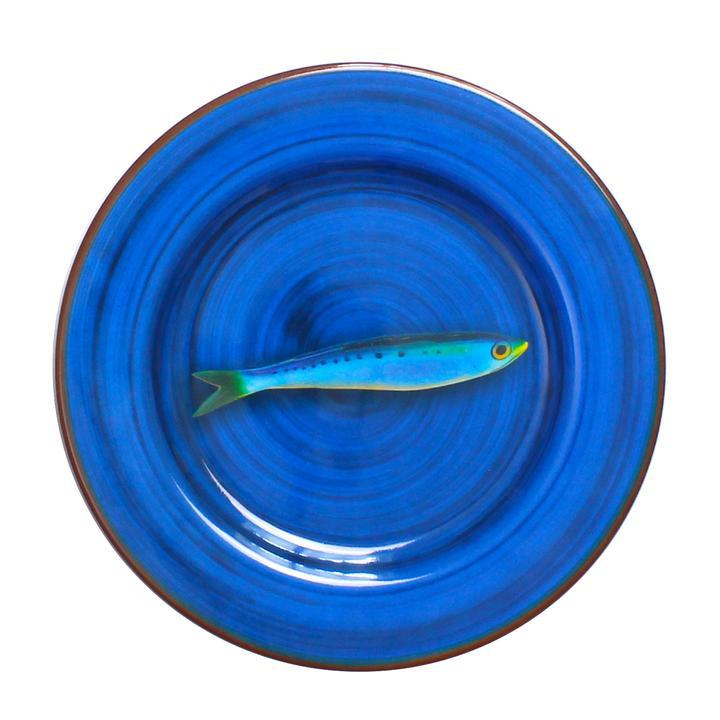 Aimone Dinner Plate - Blue