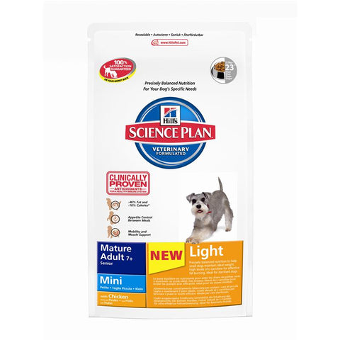Hill's Canine Mature Adult Mini Light 2,5kg