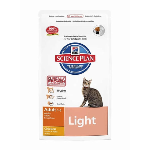 Hill´s Feline Adult Light mit Huhn