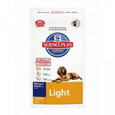 Hill´s Canine Light Mature Hundefutter 12kg