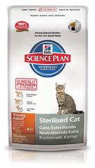 Hill´s Feline Sterilised Cat Young Huhn