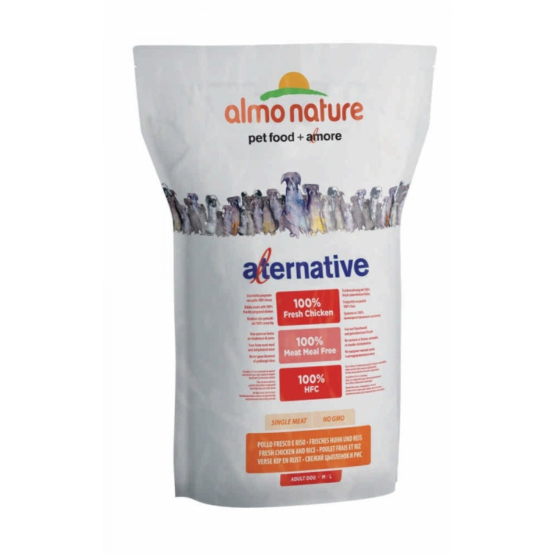 Almo Nature Alternative M/L Frisches Huhn und Reis 3.75 kg