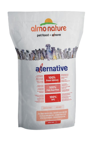 Almo Nature Alternative M/L Frischer Lachs und Reis 3.75 kg