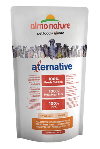 Almo Nature Alternative XS/S Frisches Huhn und Reis