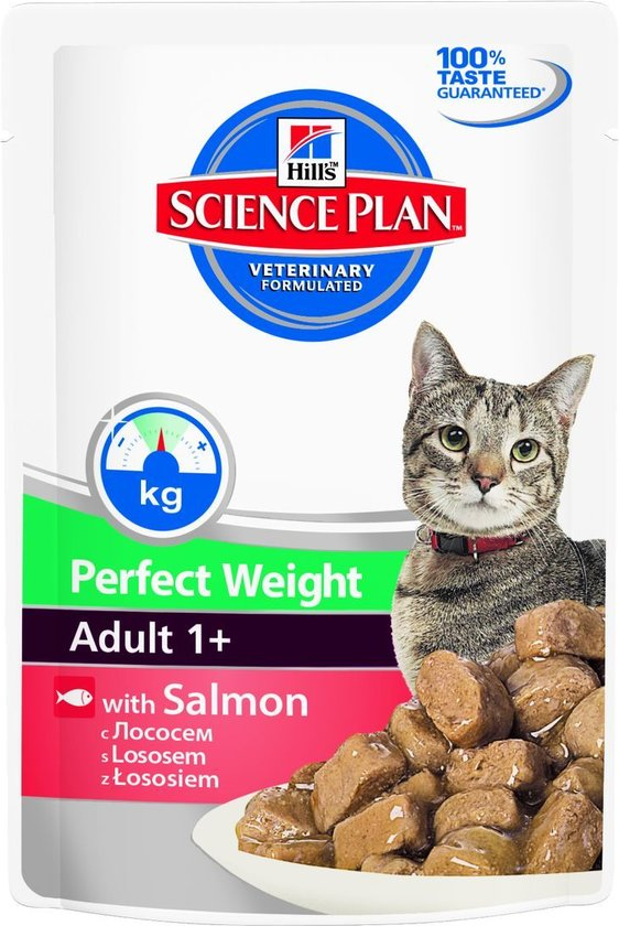 Hill´s Science Plan Feline - Adult 1+ Perfect Weight mit Lachs