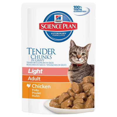 Hill's Feline Adult Light Huhn 85g