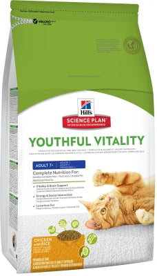 Science Plan Feline - Adult 7+ Youthful Vitality mit Huhn & Reis