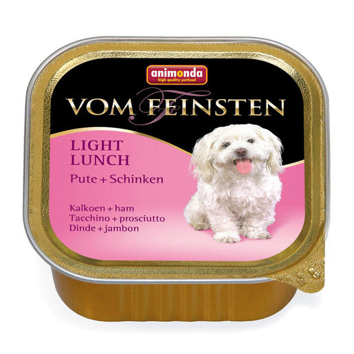 Animonda Hundefutter Vom Feinsten Light Lunch Pute und Schinken