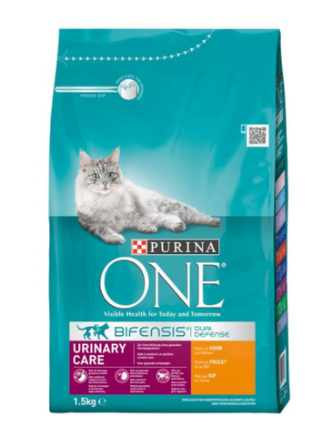 Purina ONE Bif.TR Urin.Care Huhn 1,5kg