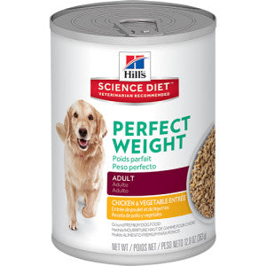 Hill´s Science Plan Canine Adult Perfect Weight mit Huhn und Gemüse 363g