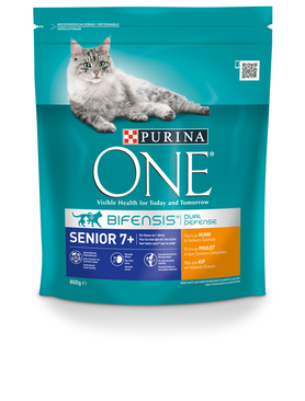 Purina ONE Bif.TR Senior 7+ 800g