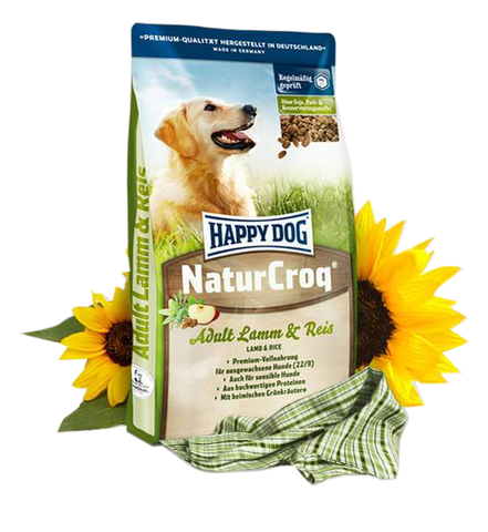 Happy Dog NaturCroq - Lamm & Reis
