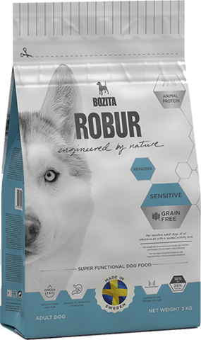 Bozita Robur Sensitive - Grain Free Reindeer