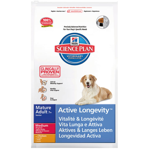 Hill´s Canine Mature Adult 7+ Medium Senior mit Huhn 3 kg