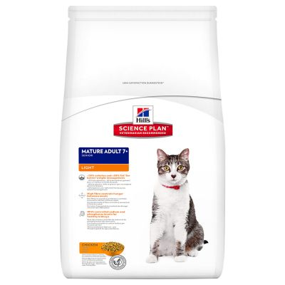 Hill's Feline Mature Adult 7+ Light Huhn  1.5kg