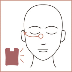 eye tension. eye massage. under eye massage. bags under eyes. how to gua sha. gua sha guide. baggy eyes. how to clear my skin.