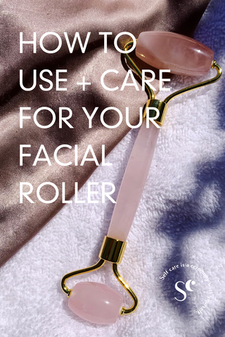 how to use a facial roller. how to use a jade roller. skincare routine. what is a jade roller. gua sha or roller. jade roller or rose quartz roller. how to do gua sha. facial massage. gua sha massage.