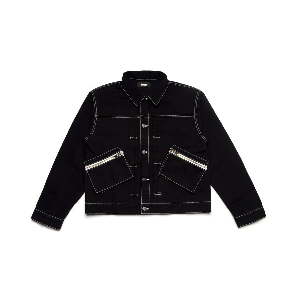 Canvas Jacket - Black