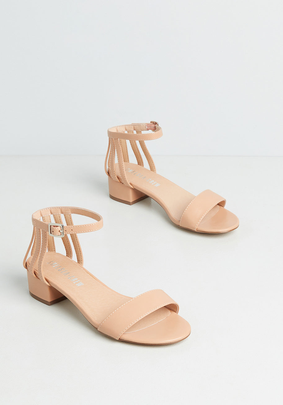 70s Outfits – 70s Style Ideas for Women Chelsea Crew Always a Pleasure Sandals in Tan Size 42 $59.00 AT vintagedancer.com