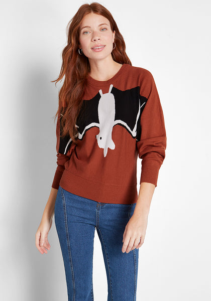 Just Hanging Out Graphic Sweater