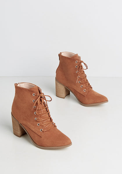 Making Magic Lace-Up Bootie