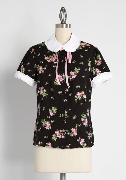After You, My Dear Button-Up Blouse