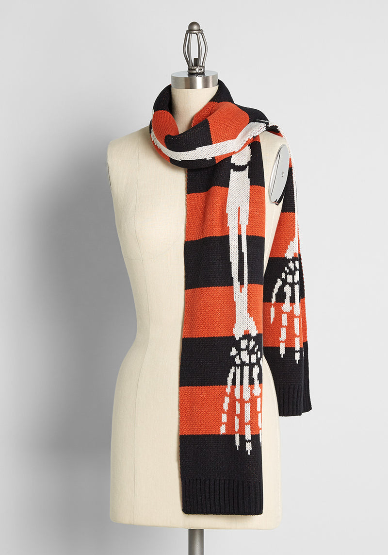 Royal Monk Every Day Is Halloween Scarf
