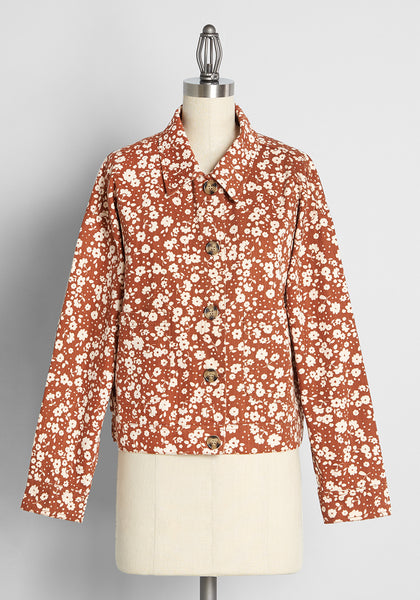 Ditsy Days in Daisies Jacket
