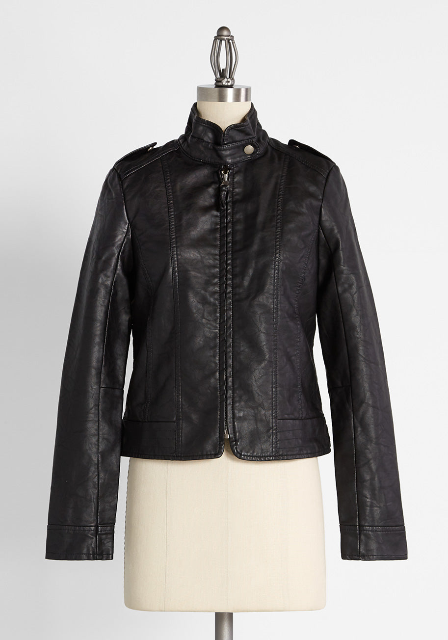 80s Windbreakers, Jackets, Coats ModCloth What Motors Most Jacket in Black Size 3X $74.99 AT vintagedancer.com