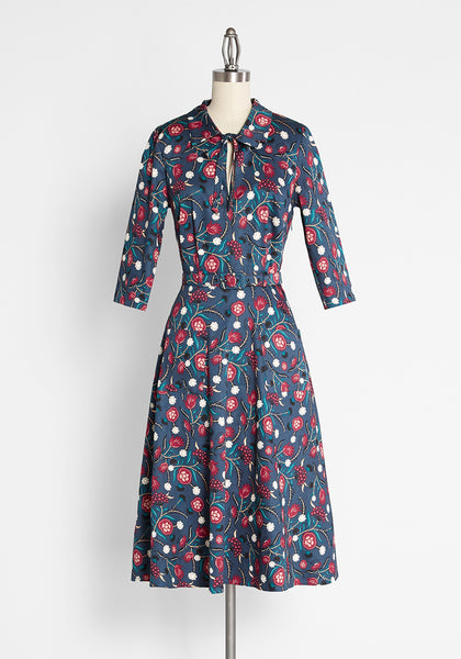 ModCloth x Collectif Little Did You Know A-Line Dress