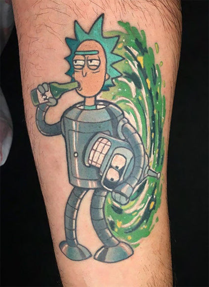 rick and bender tattoo