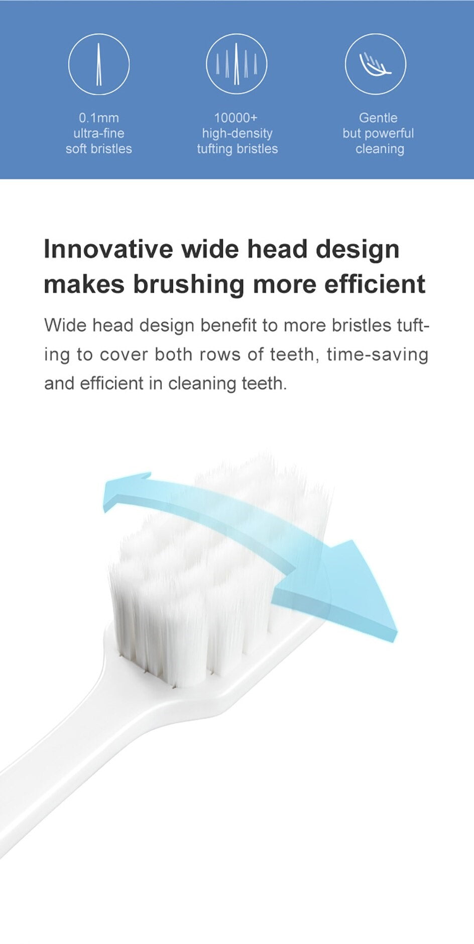 DR.BEI YMYM Wide Head Toothbrush  Xiaomi Youpin DR·BEI YMYM Toothbrushes Adult Wide Head Ultra-soft Toothbrush Charcoal Nano Tooth Brushes Dental Personal Care Xiaomi Youpin