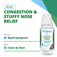 Load image into Gallery viewer, TexaClear Kids Stuffy Nose Relief - Ages 2+