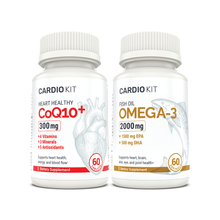 Load image into Gallery viewer, Cardio Kit - CoQ10 & Fish Oil Bundle