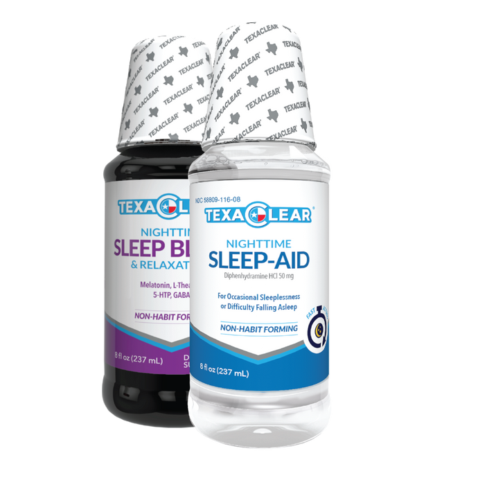If you have trouble sleeping this is the perfect nighttime sleep aid bundle for you. Non-habit forming formulas made to help you get to sleep and stay asleep.
