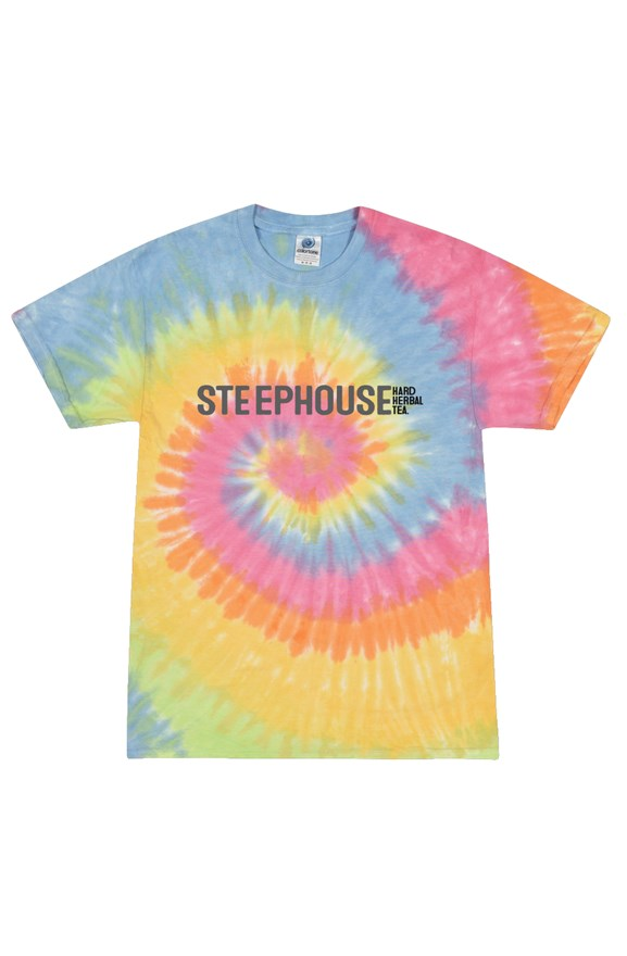 STEEPHOUSE Tie Dye Adult Tee
