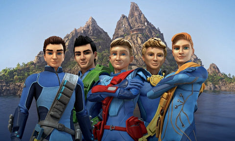 Thunderbirds Are Go Cast