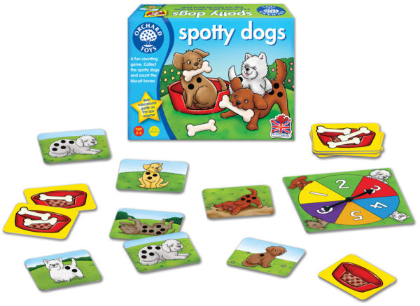 Orchard Toys 001 Spotty Dogs Game
