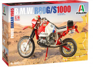 Italeri 4641 BMW 1000 DAKAR 1985 1/9 Scale Motorbike Plastic Model Kit
