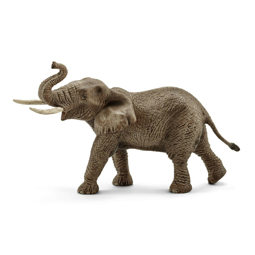 Schleich 14762 African Elephant Male (trunk raised)
