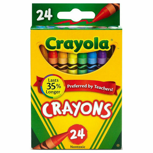Crayola 24 Crayons Assorted