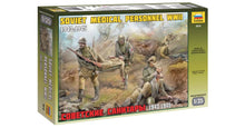 Load image into Gallery viewer, Zvezda Z3618 Soviet Medical Personnel WWII 1:35 Plastic Model Kit