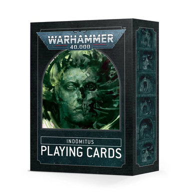 Warhammer 40,000 Indomitus Playing Cards