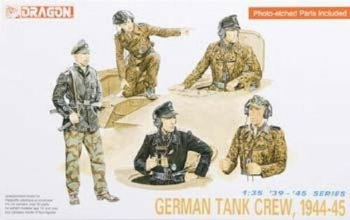 Dragon 1/35 German Tank Crew 1944-45