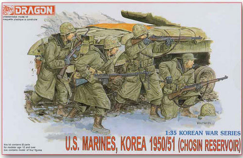 Dragon D6802 US Marines Korea 1950/51 (CHOSIN RESERVOIR)
