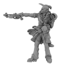 Load image into Gallery viewer, The Lion's Tower Elf Male Rogue Crossbow 3D Printed Model